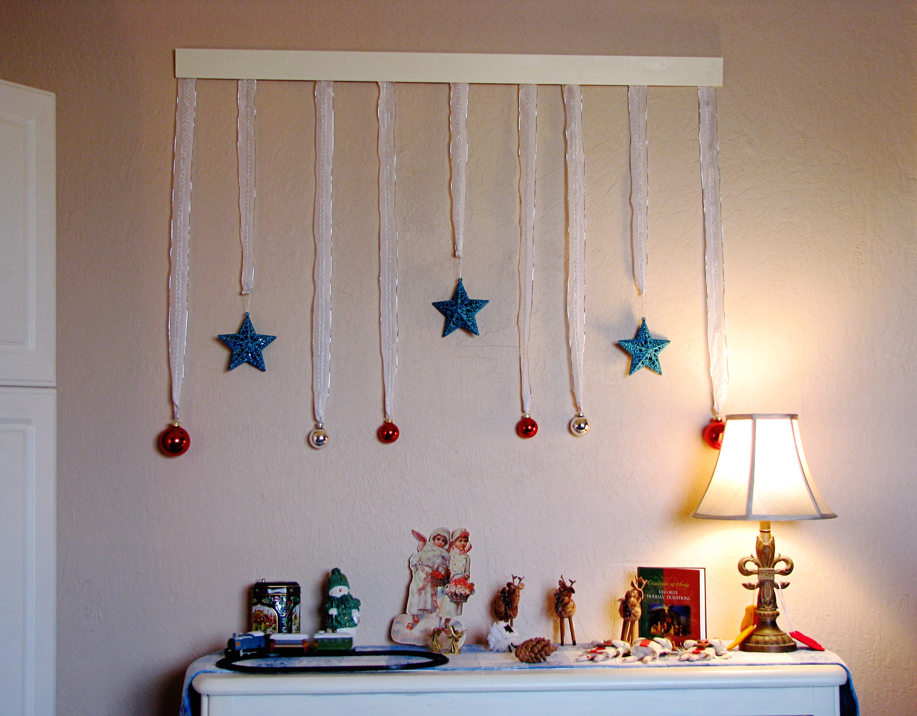 Christmas Wall Decor Images : Christmas wall decorations ideas for this year