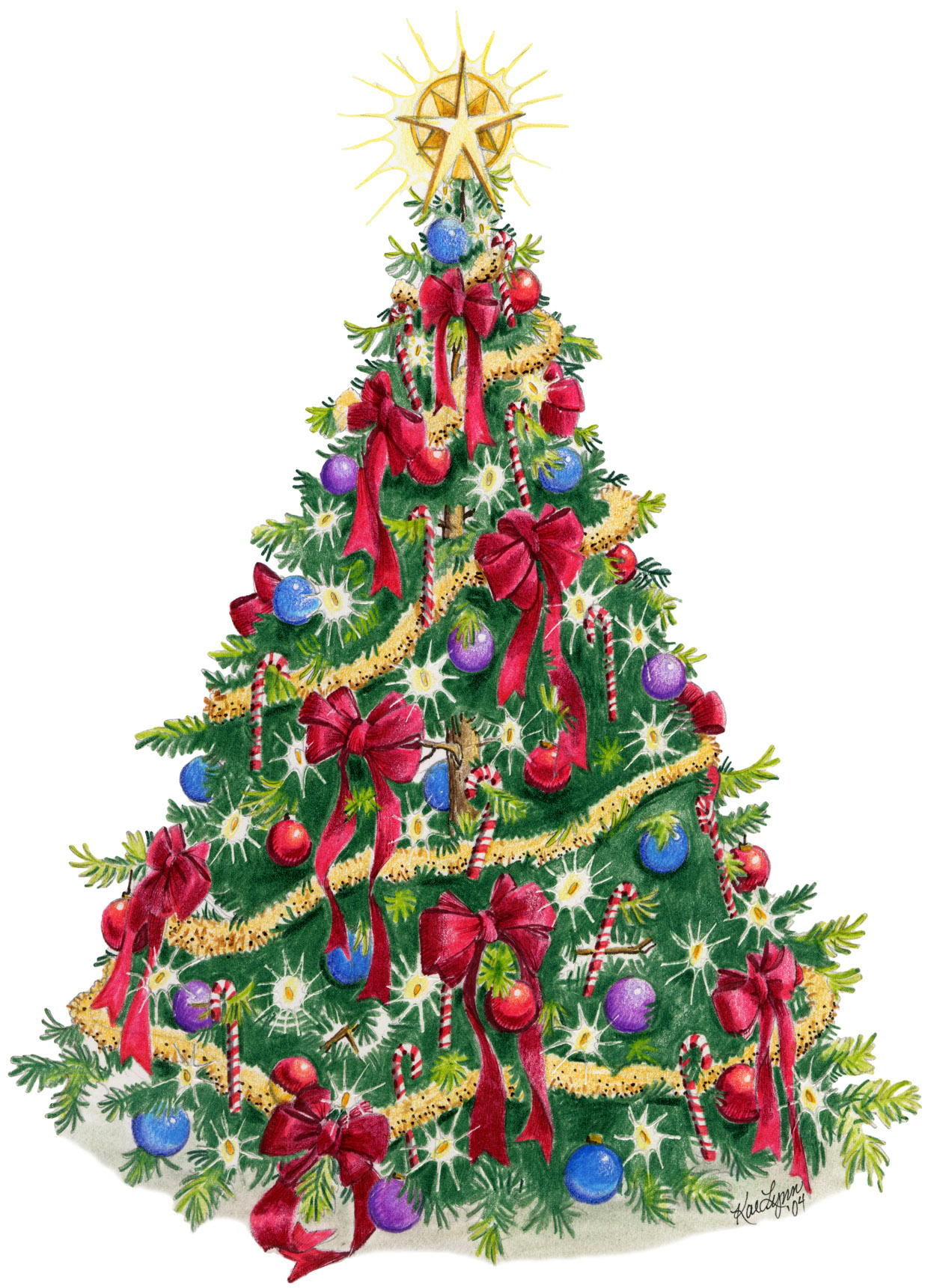 Artificial Christmas Tree 18