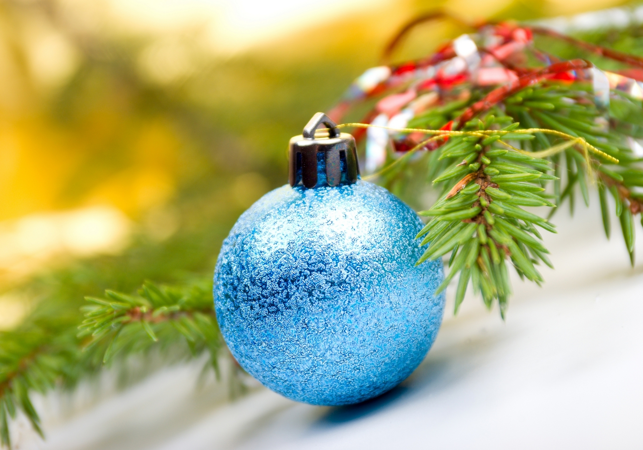 Blue Christmas Ornament 11
