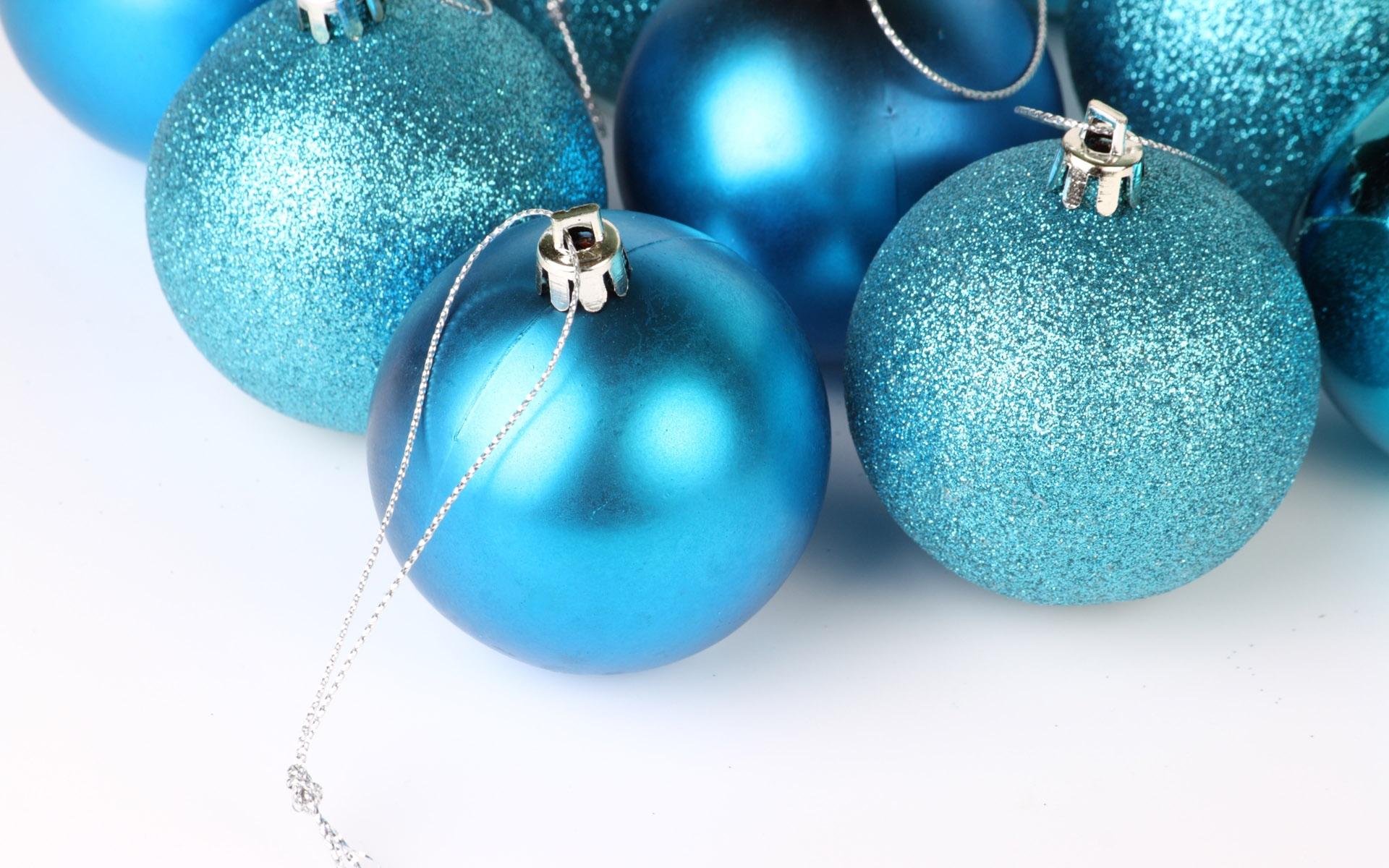 Blue Christmas Ornament 2