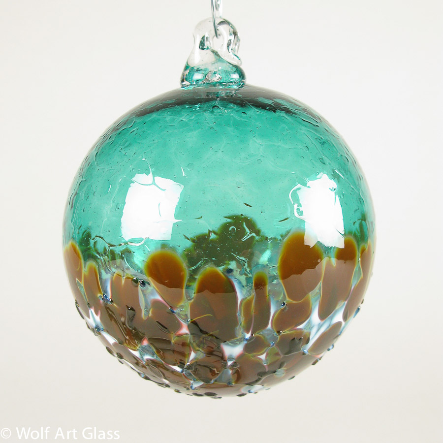 Glass Christmas Ornament 10