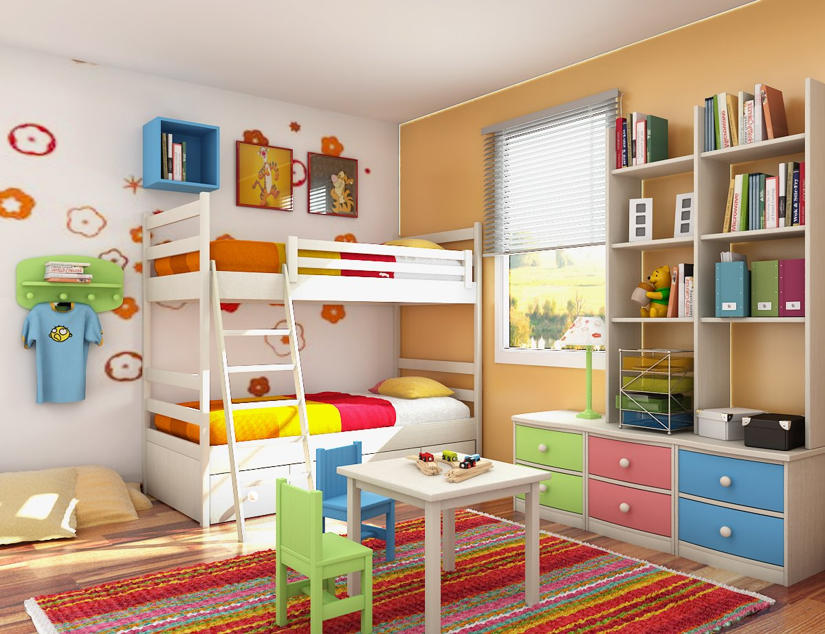Kids Bedroom Design 19