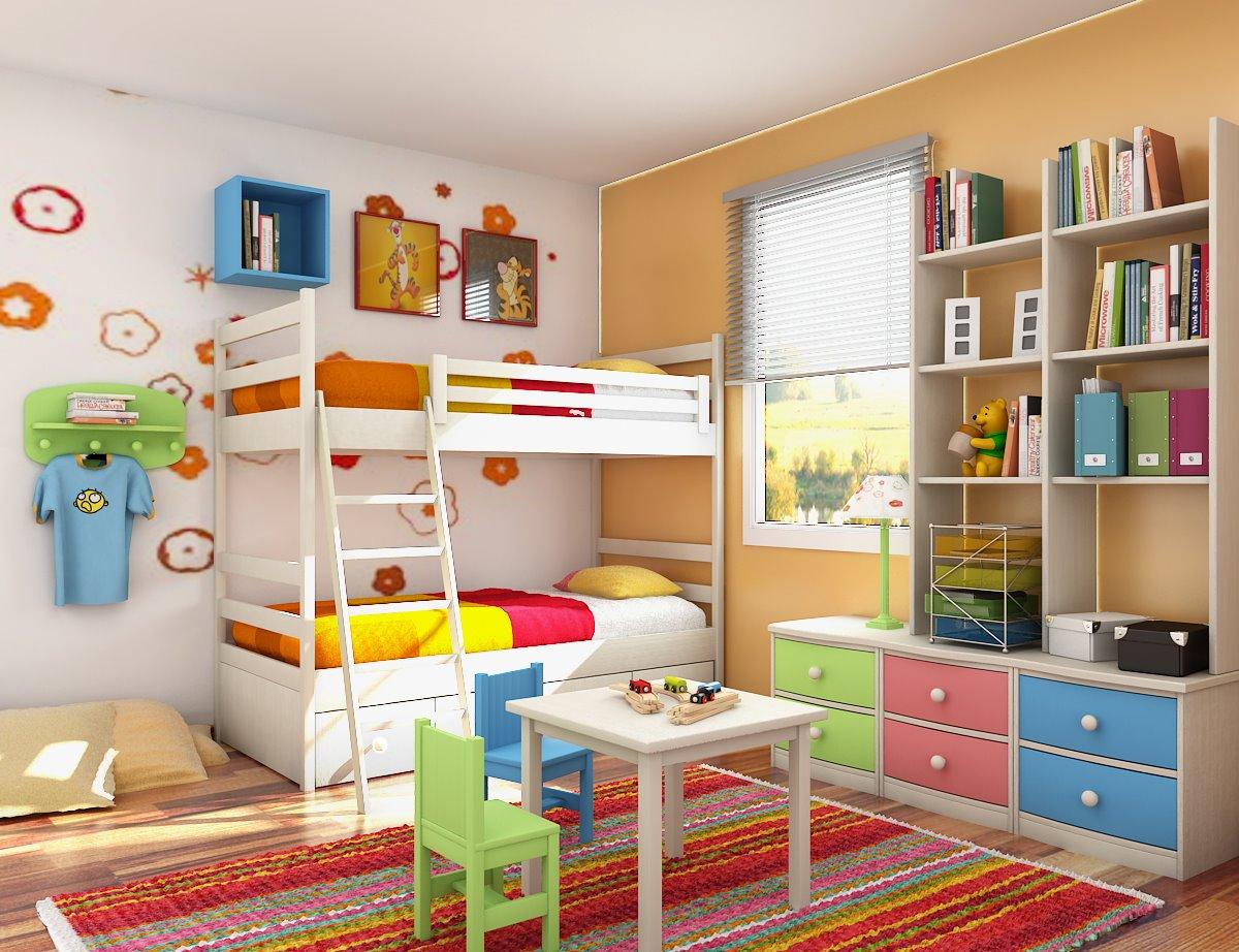 Kids Bedroom Design 19