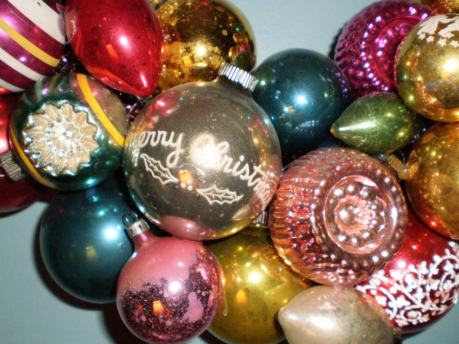 Vintage Christmas Ornaments Pictures & Photos