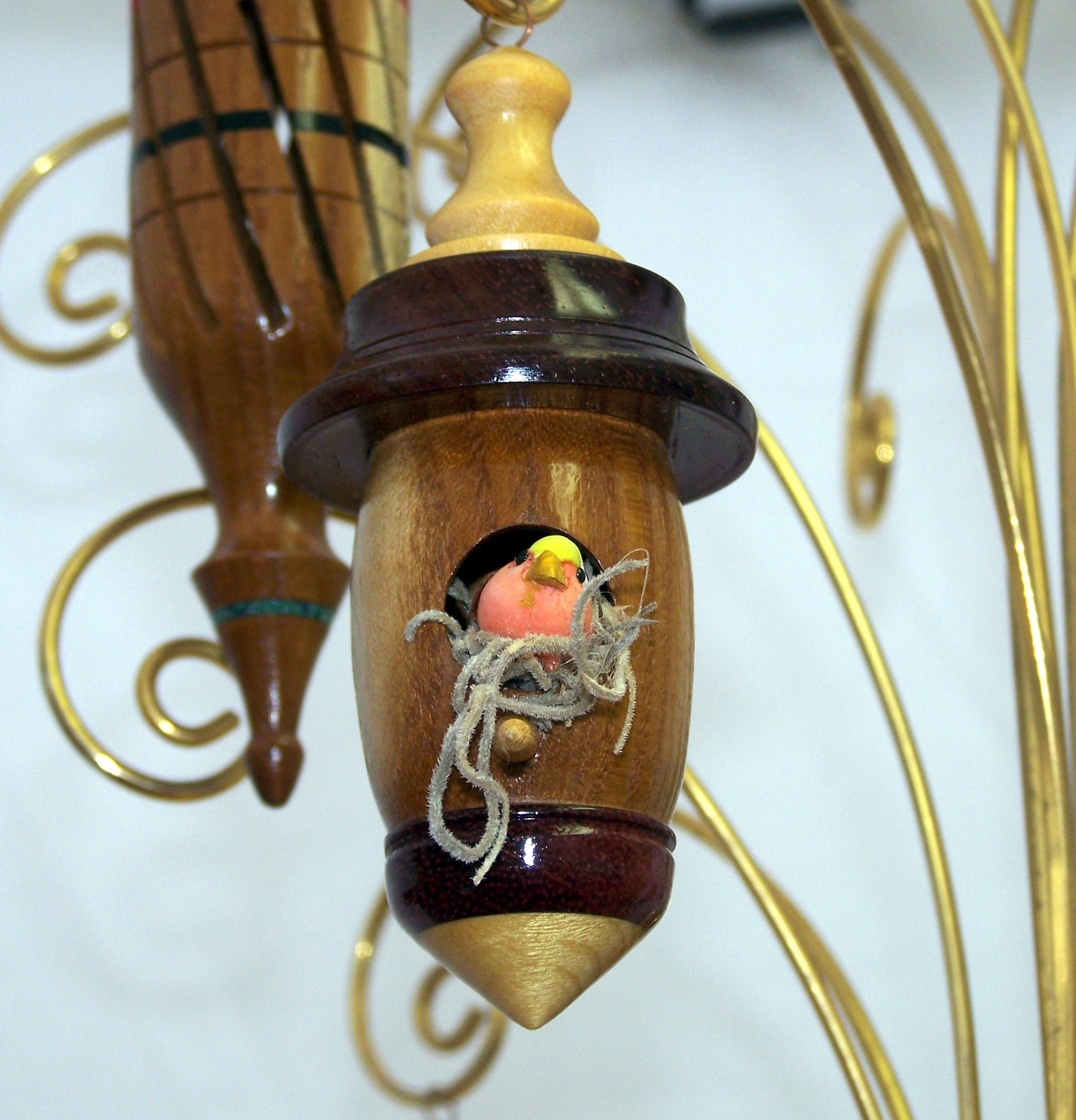 Wooden Christmas Ornament 16