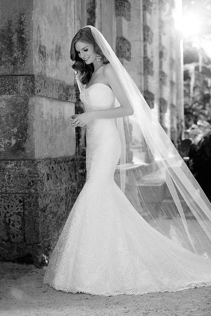 25 mermaid wedding dresses styles perfect wedding dress for What kind of wedding dress