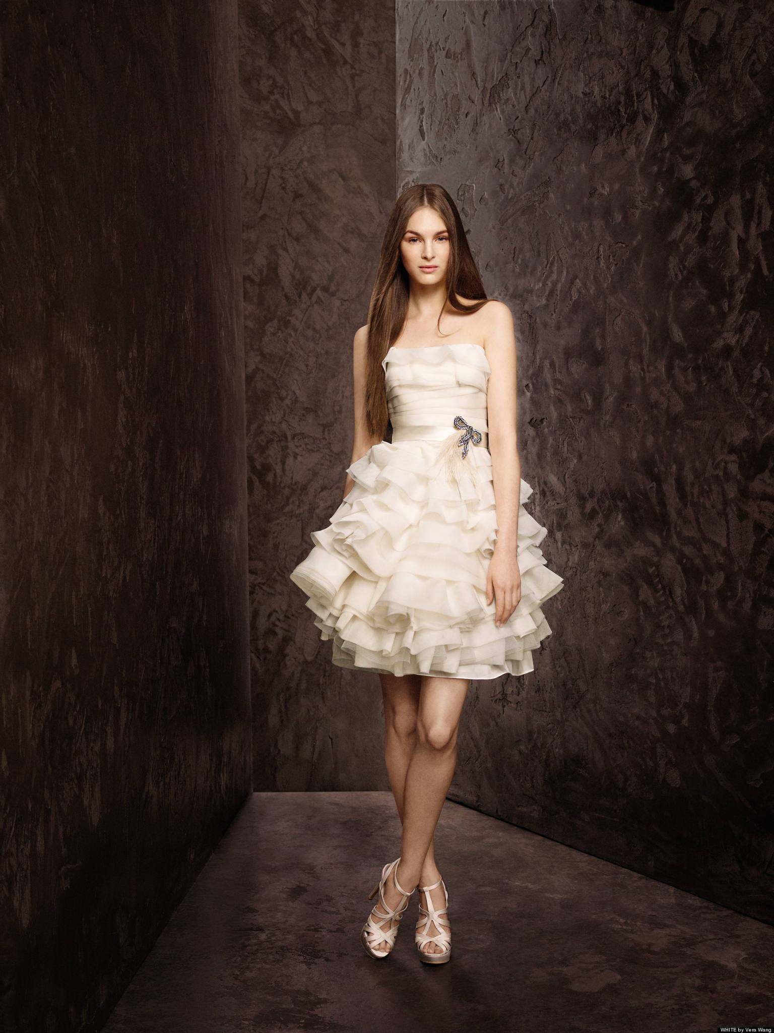 20 cool short wedding dresses magment for Picture of a wedding dress