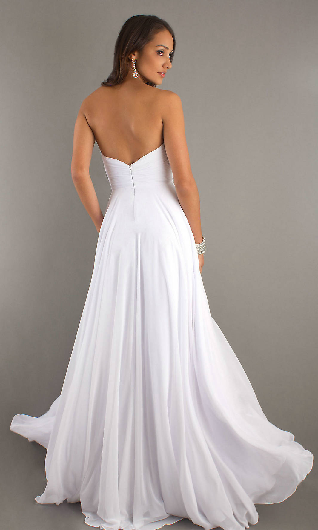 Cute White Prom Dresses