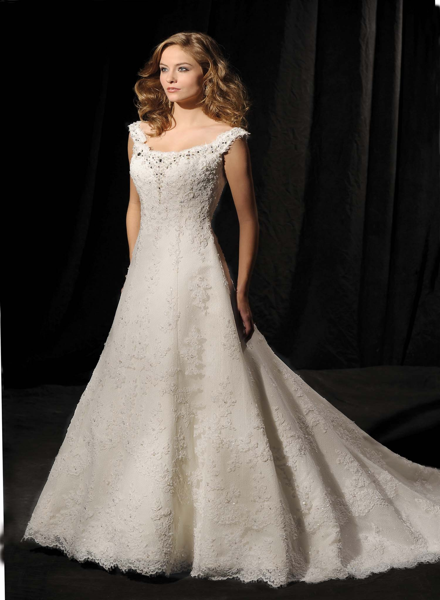 20 best new lace wedding dresses for 2016 magment for Best lace wedding dresses