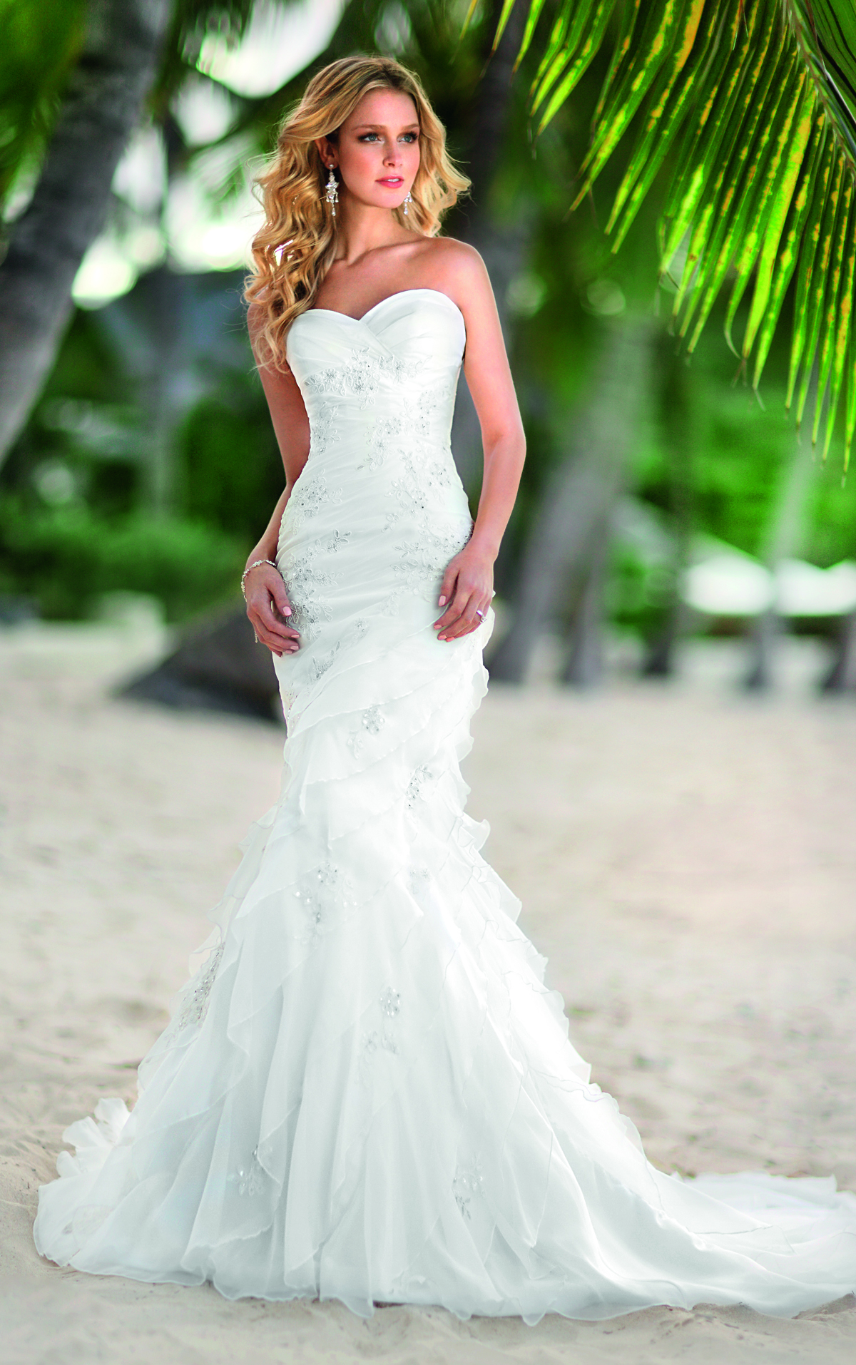 Mermaid Beach Wedding Dress