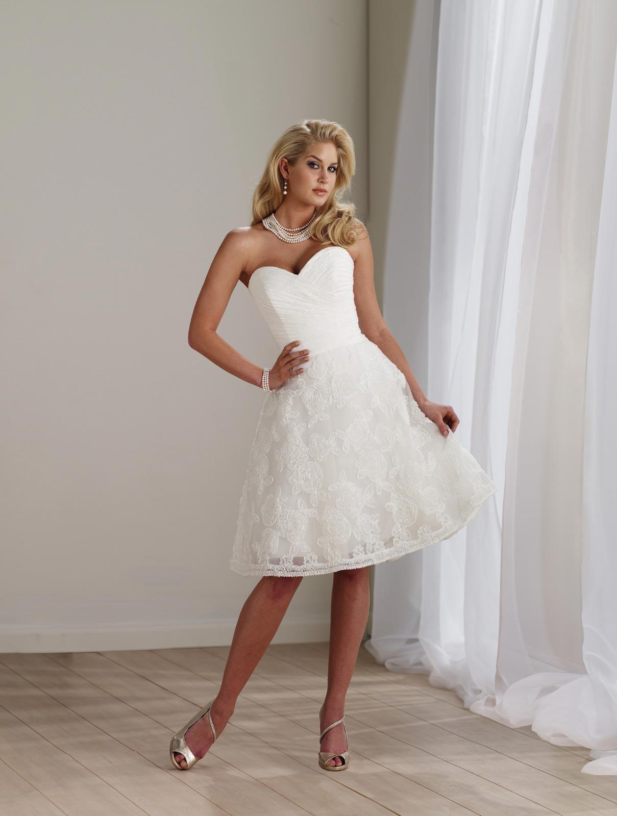 Very Short Wedding Dress