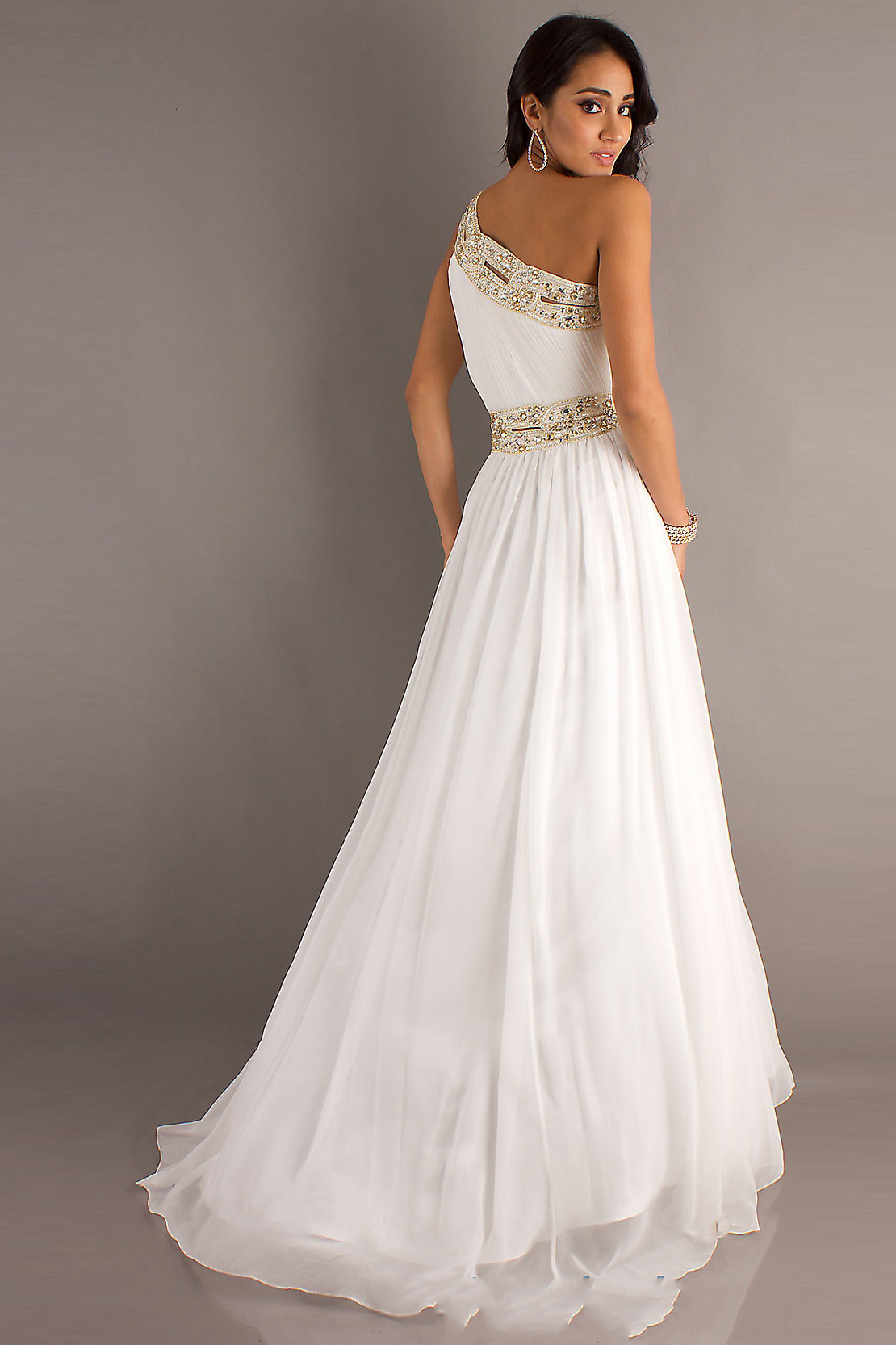 White Dresses For Prom 48