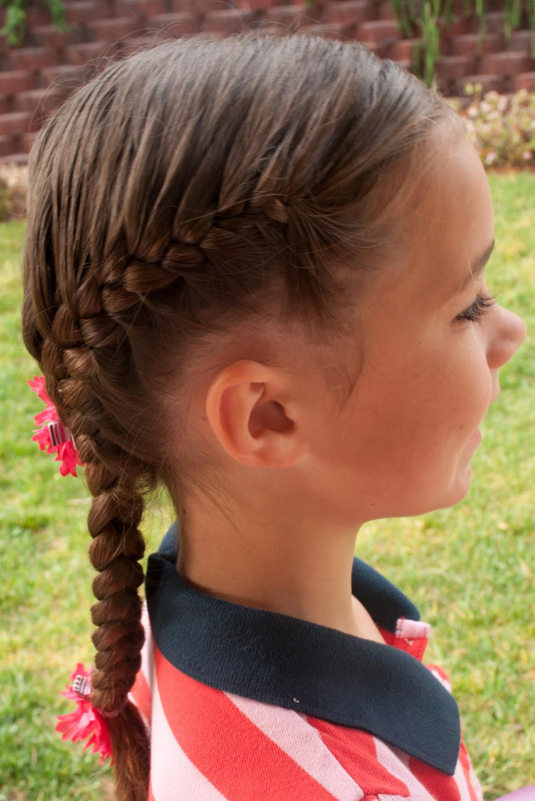 Cute French Braid Hairstyles for Kids