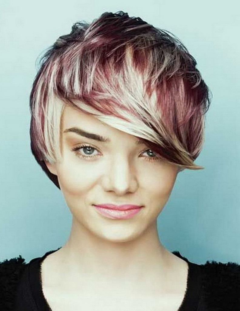 Messy Short Hairstyles 2016