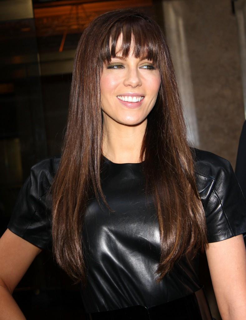 Straight Hairstyles with Bangs for Long Hair