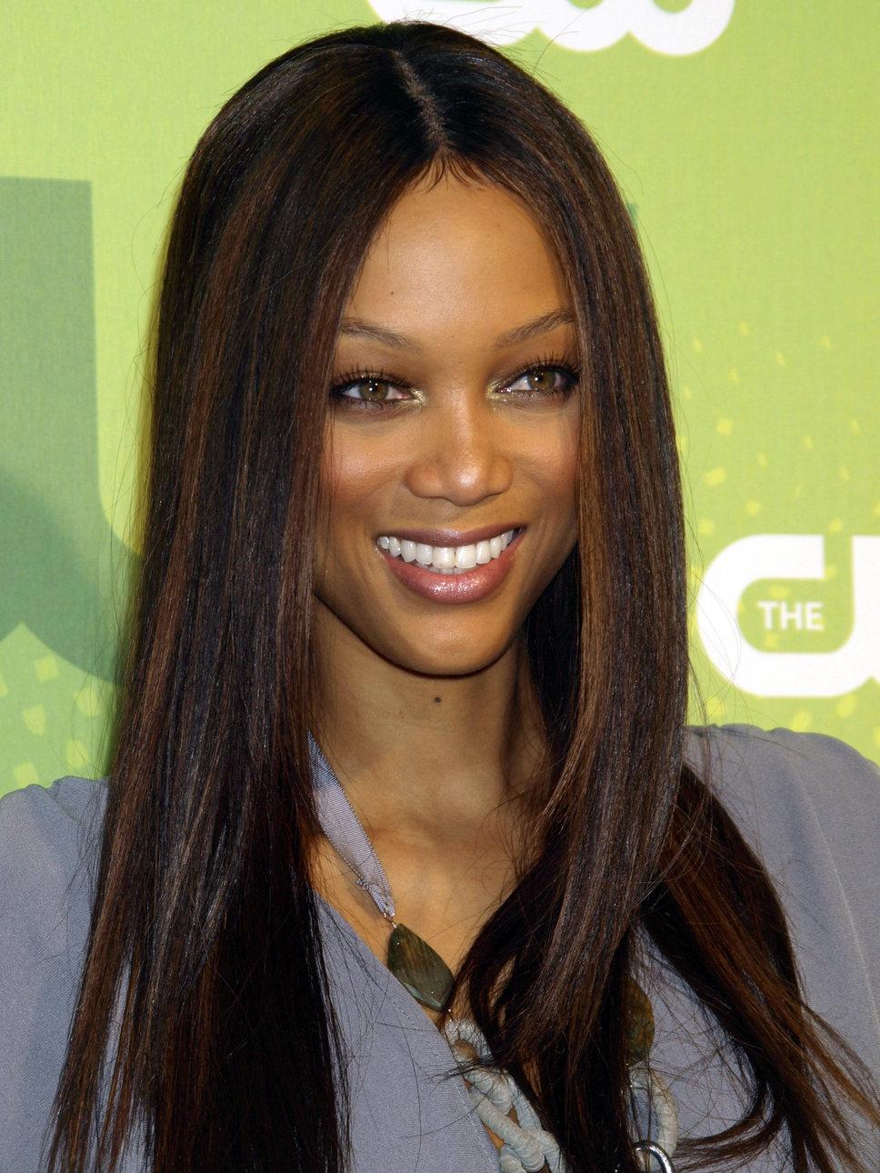 Tyra Banks Straight Hair