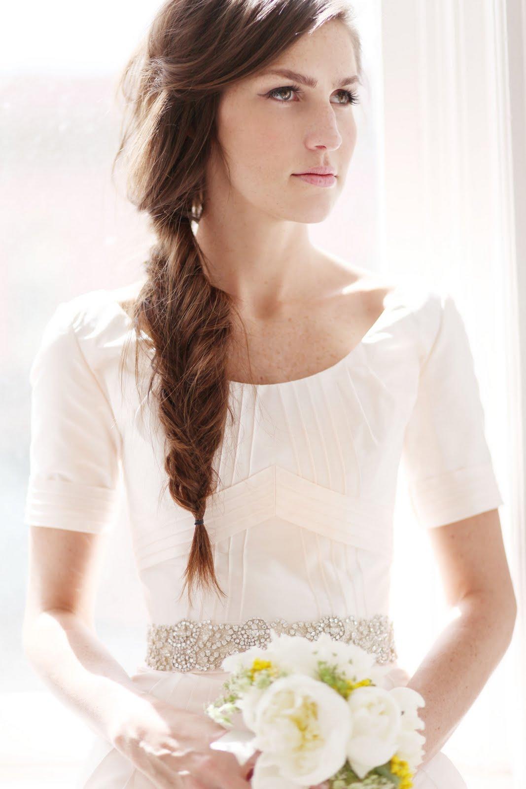 Wedding Hairstyles Long Straight Hair