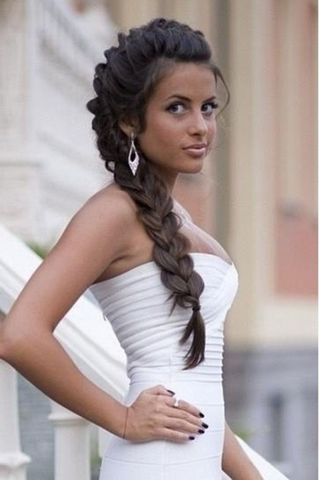 Wedding Hairstyles with Braids for Long Hair