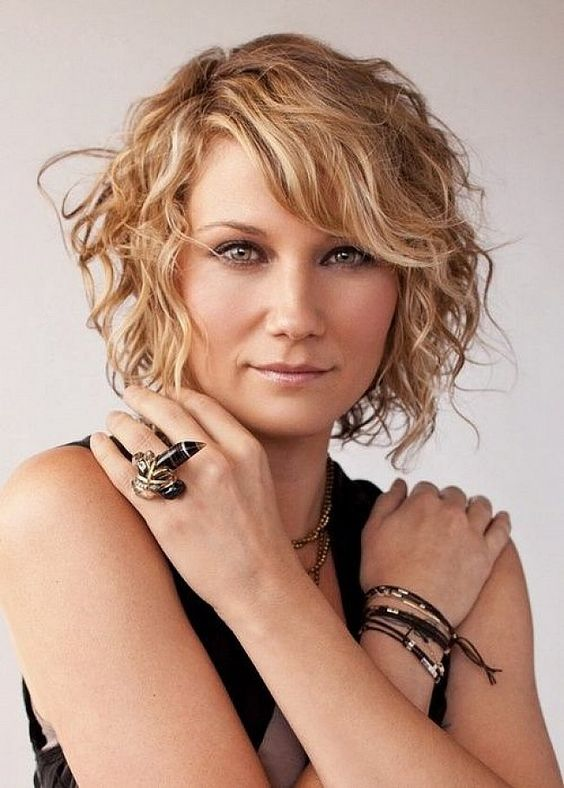Curls Layered Short Hairstyles