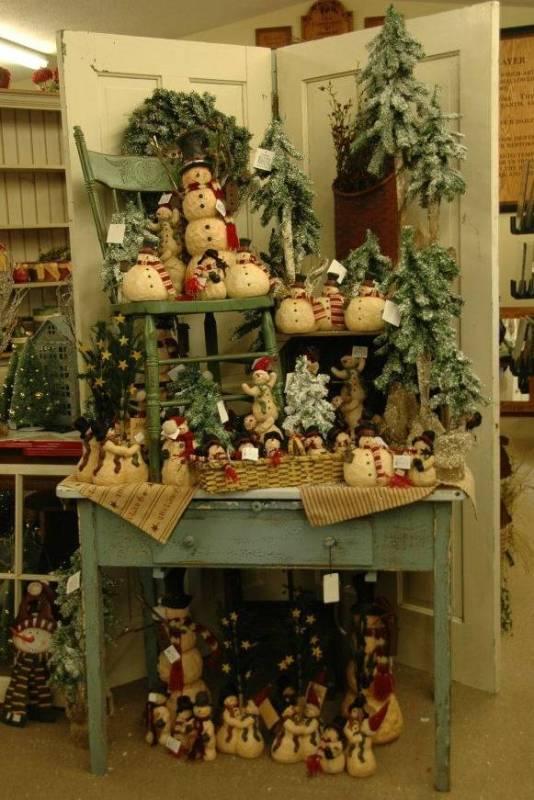 Country Christmas Craft Decor
