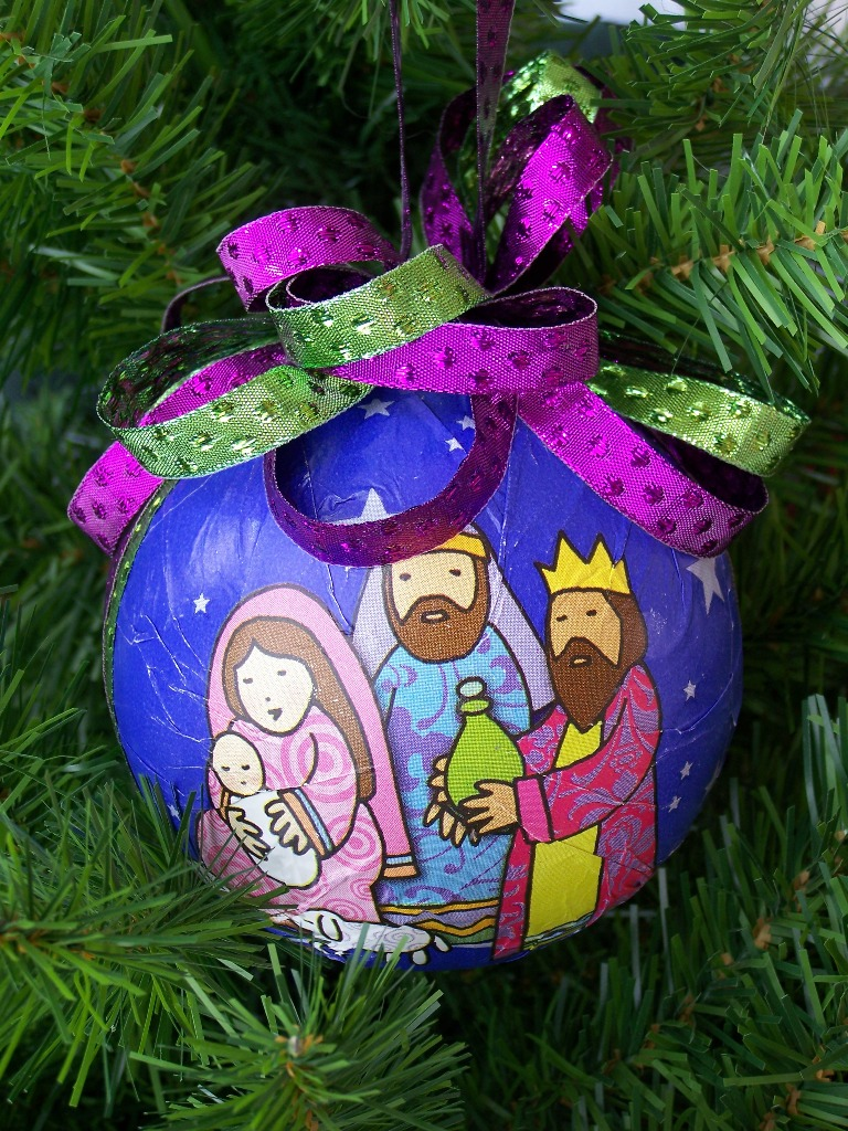25 christian christmas decorations ideas magment for Nativity crafts to make
