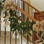 30 Most Pinned Staircase Christmas Decorations Ideas