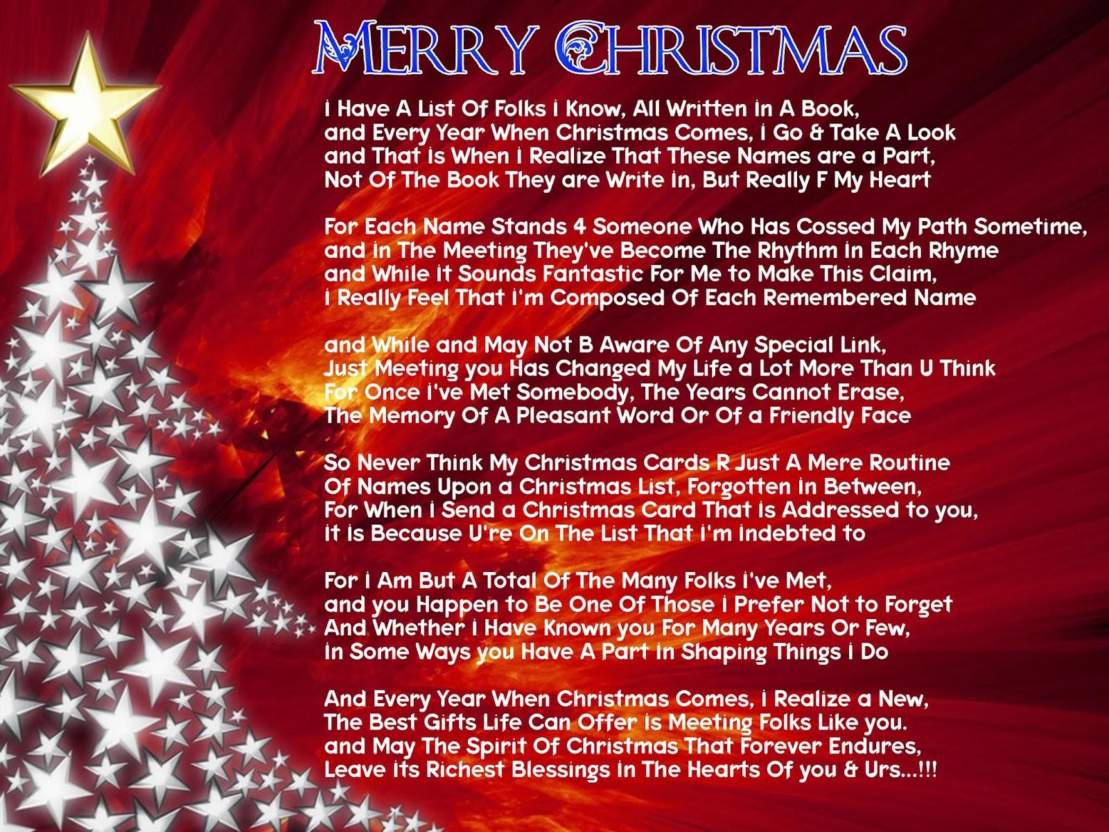Christmas Poem 22