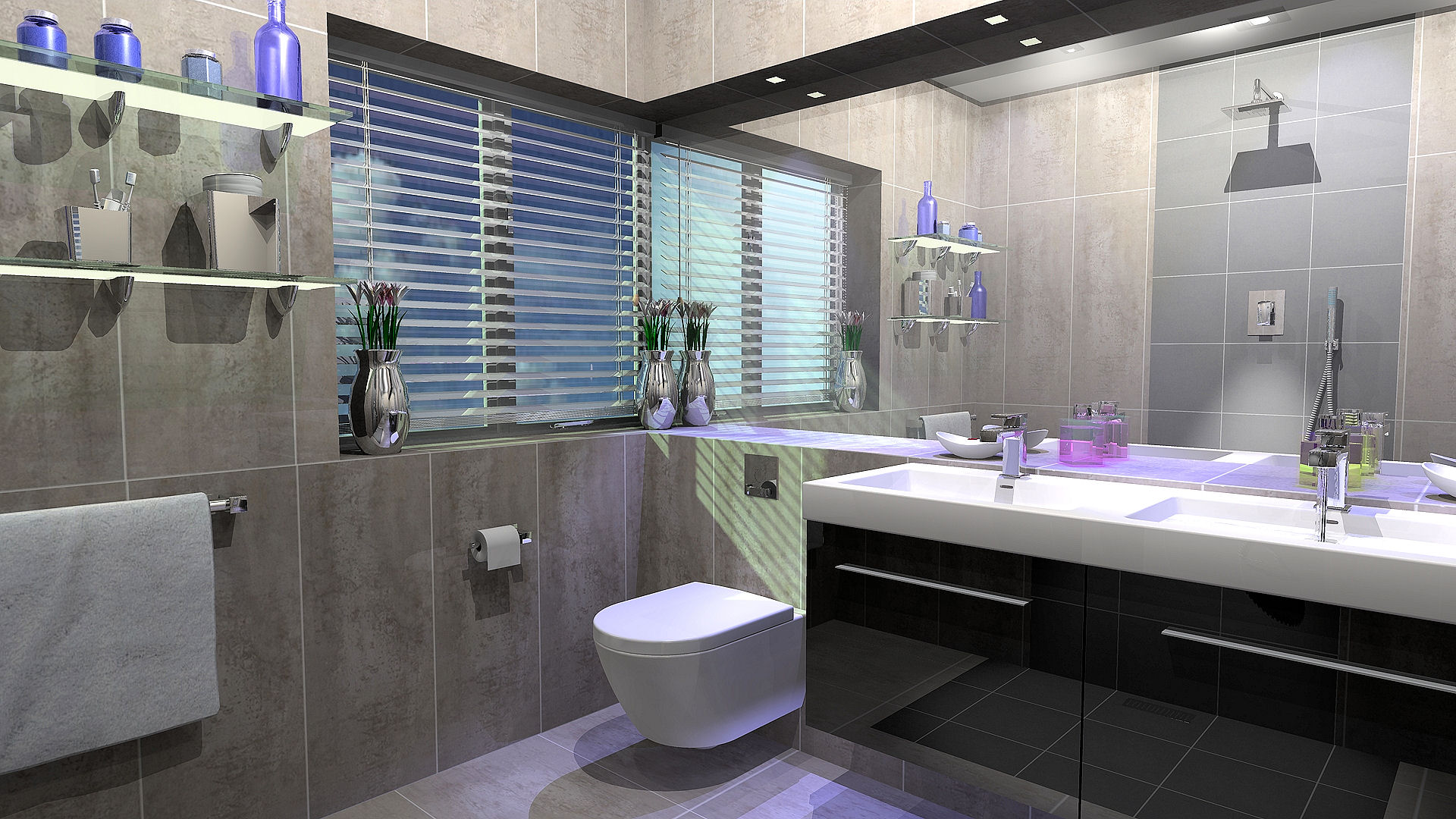 Contemporary Bathroom Design 9