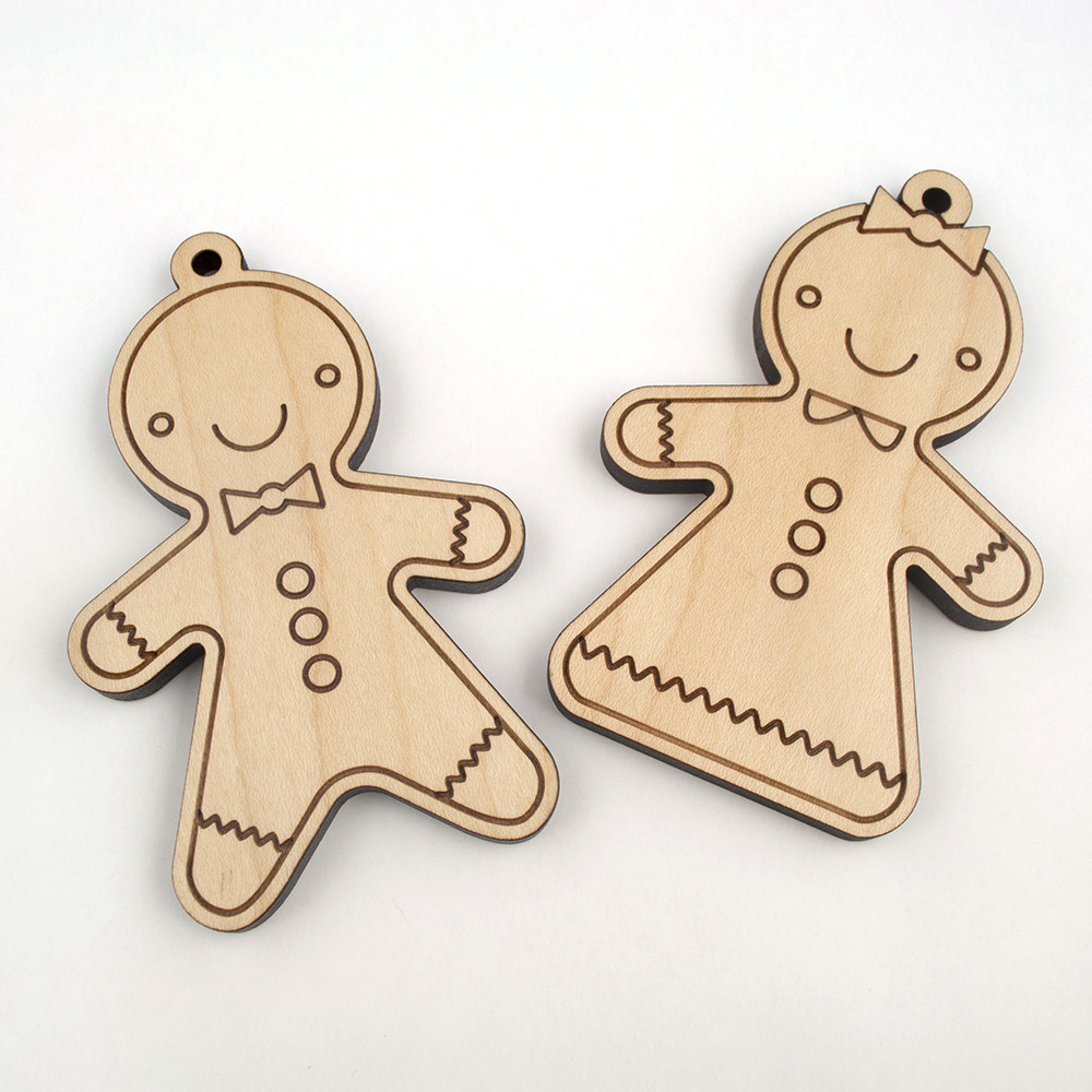 Wooden Christmas Ornament 13