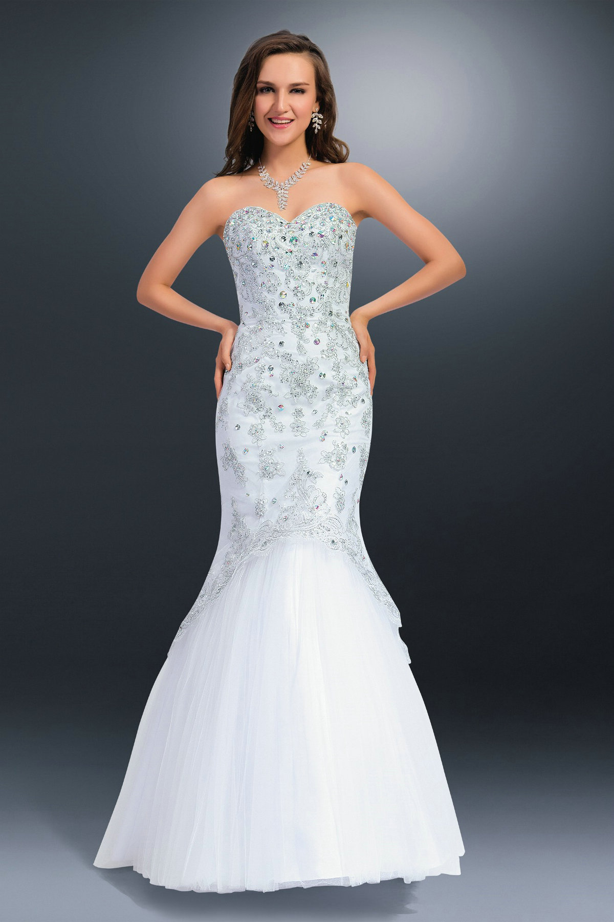 20 Beautiful White Prom Dresses Magment