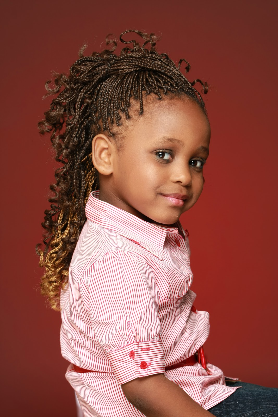 Kids Braids with Weave Hairstyles
