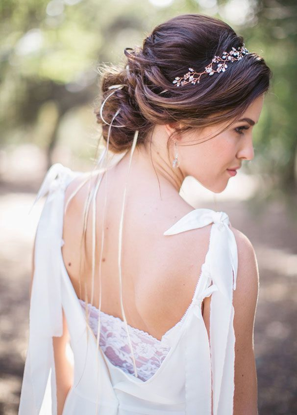 Bohemian Casual Wedding Hairstyles