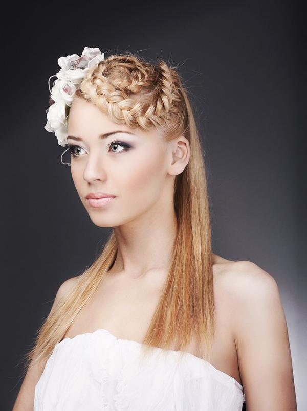 Unique Brides Wedding Hairstyles