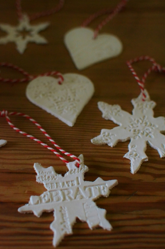 air-drying-clay-christmas-decorations