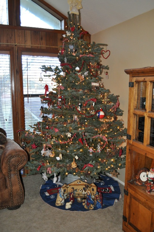 30 Easy And Fun Western Christmas Tree Decorations Ideas