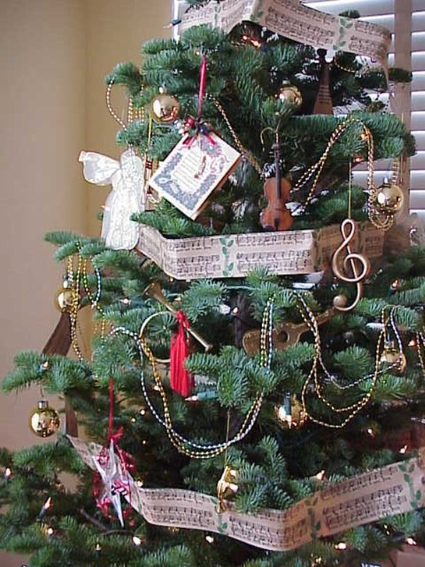 Christmas Tree Decorations With Garland For This Year