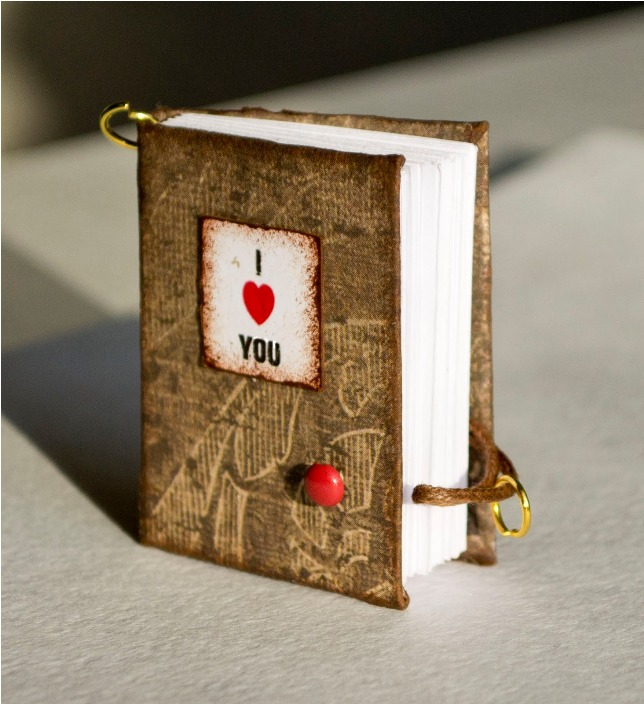 Miniature Valentine's Notebooks